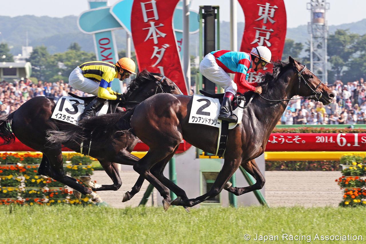 府中春の陣 5月10日から東京競馬場で5週連続G1ですよ。